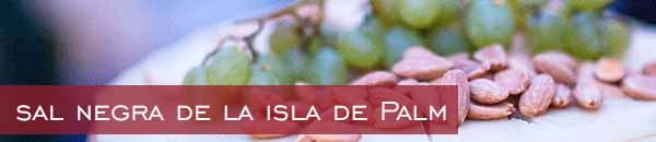 sal negra de la isla de Palm 2