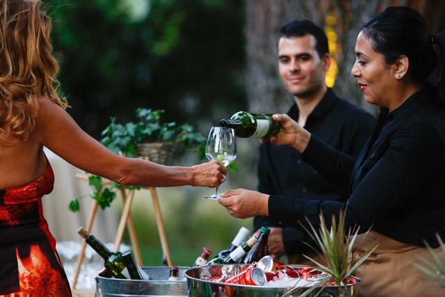 Camareros en evento Catering de Lisi Madrid