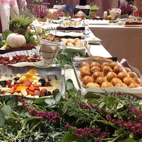 Buffet para empresa de catering en Madrid