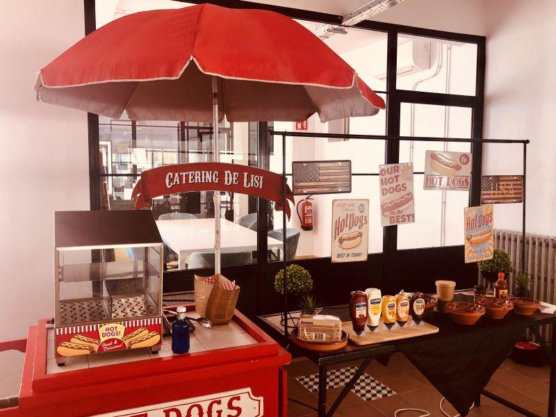 Carrito Hot Dogs. Servicios Extras. Comuniones 2020