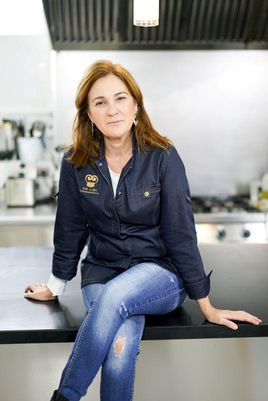 Mamen Cascón, alma mater de Catering de Lisi