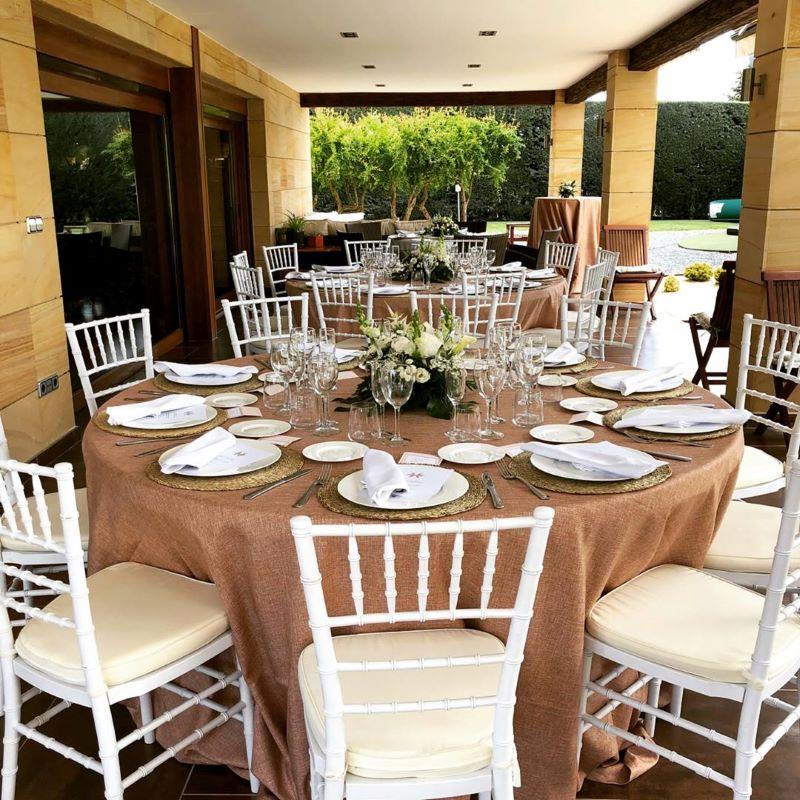 Mobiliario.servicio extra bodas